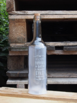 Happy Father's Day Starlight Bottle